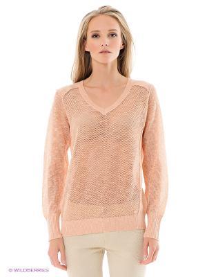 Пуловер ESPRIT. Цвет: бежевый