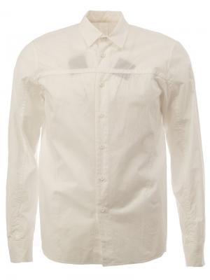 Классическая рубашка 08Sircus. Цвет: белый