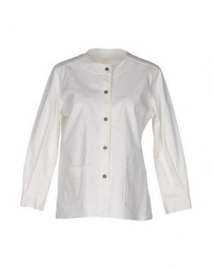 Пиджак DANIELA PANCHERI. Цвет: белый