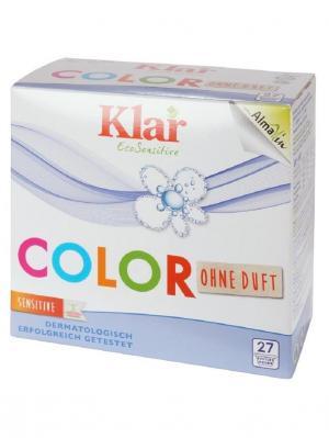 Klar Стиральный Порошок Концентрированный Для Цветного Белья Гипоаллергенный Эко, 1,375 Кг. Цвет: белый