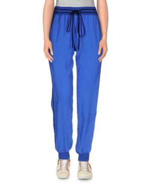 Повседневные брюки SUOLI. Цвет: синий