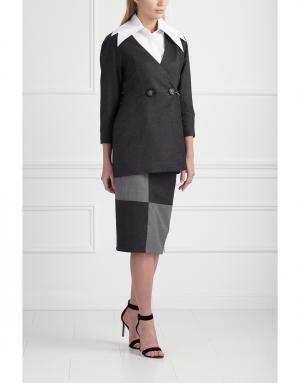 Пиджак MoS. Цвет: серый