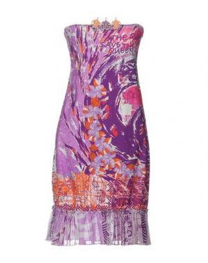 Короткое платье SAVE THE QUEEN! SUN. Цвет: светло-фиолетовый