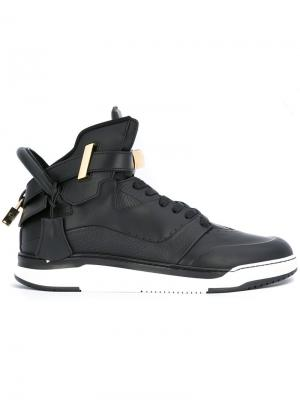 Высокие кроссовки Buscemi. Цвет: чёрный