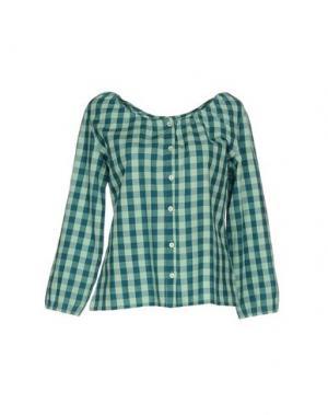 Pубашка NICE THINGS by PALOMA S.. Цвет: зеленый