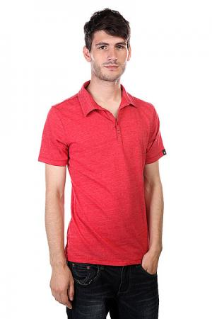 Поло  Crosby Polo Shirt Red Osiris. Цвет: красный
