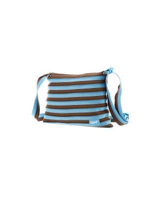 Сумка Medium Shoulder Bag, цвет голубой/коричневый ZIPIT. Цвет: голубой, коричневый