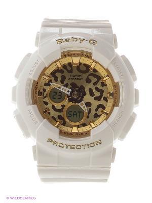 Часы Baby-G BA-120LP-7A2 CASIO. Цвет: белый