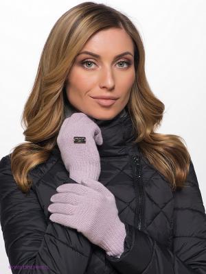 Перчатки LAURA ESSE. Цвет: бледно-розовый