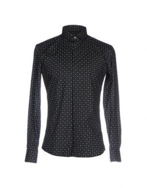 Pубашка SSEINSE. Цвет: черный