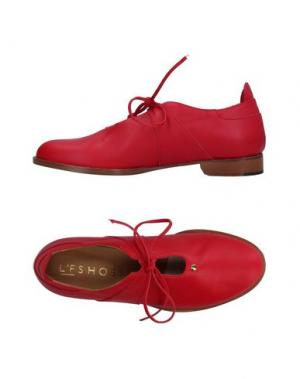 Обувь на шнурках L'F SHOES. Цвет: красный