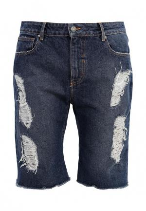 Шорты джинсовые Eleven Paris. Цвет: синий