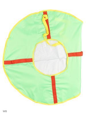 Санки надувные Ватрушка Метиз. Цвет: желтый, белый