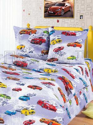 Комплект постельного белья Арт Постель. Цвет: сиреневый, красный, желтый