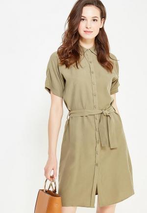 Платье Cocos. Цвет: хаки