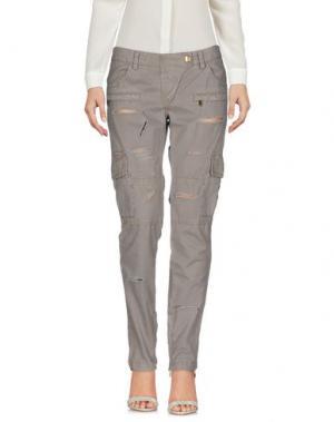 Повседневные брюки SHI 4. Цвет: голубиный серый