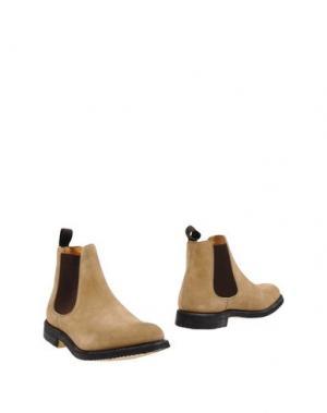 Полусапоги и высокие ботинки CHURCH'S. Цвет: песочный