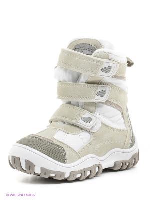 Ботинки PlayToday. Цвет: белый, бежевый