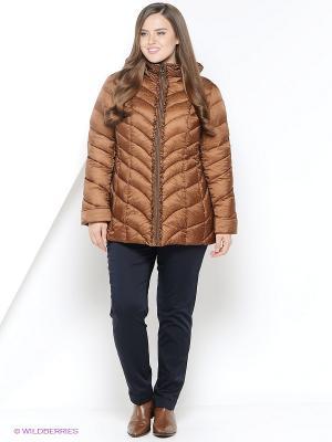 Куртка Vlasta. Цвет: коричневый