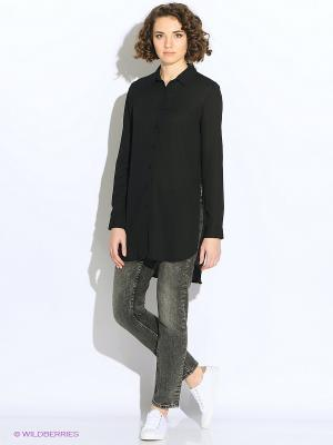 Блузка Cropp. Цвет: черный