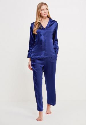 Пижама Mia-Mia. Цвет: синий