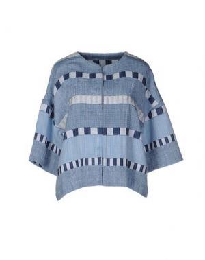 Пиджак INTROPIA. Цвет: небесно-голубой