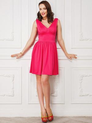 Платье La vida rica. Цвет: розовый