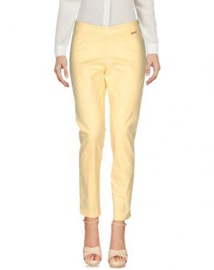 Повседневные брюки CONTE OF FLORENCE. Цвет: светло-желтый