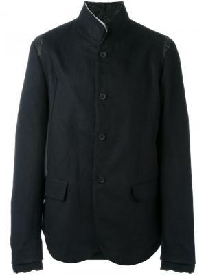 Пиджак с вырезами на плечах Lost & Found Ria Dunn. Цвет: чёрный