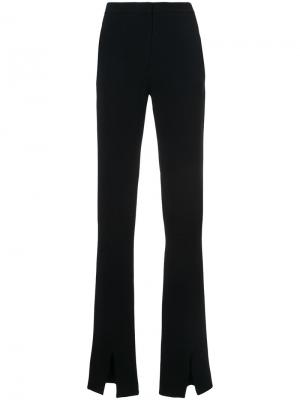 Flared trousers Jeffrey Dodd. Цвет: чёрный