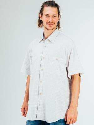 Рубашка Westrenger. Цвет: светло-бежевый