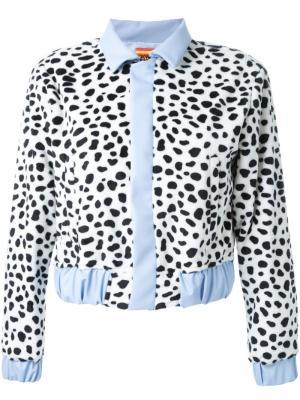Куртка с пятнистым принтом Growing Pains. Цвет: многоцветный