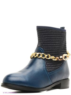 Ботинки Daze. Цвет: синий