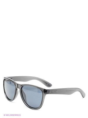 Солнцезащитные очки Polaroid. Цвет: антрацитовый, черный