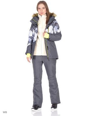 Куртка Stayer. Цвет: антрацитовый, белый, серый