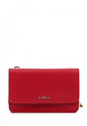 Сумка Furla. Цвет: красный