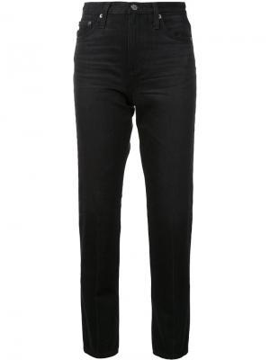 Укороченные джинсы кроя скинни Ag Jeans. Цвет: чёрный