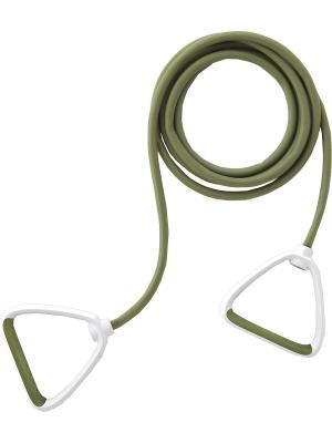Эспандер трубчатый Ecowellness. Цвет: зеленый