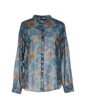 Pубашка BELLA JONES. Цвет: цвет морской волны