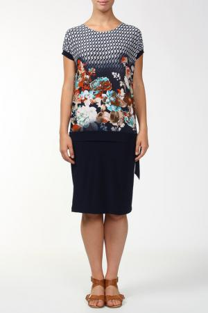 Платье Melani. Цвет: синий