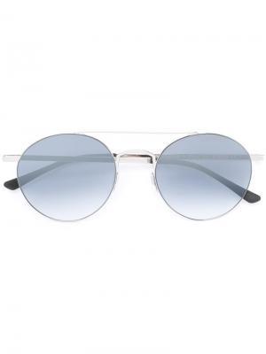 Солнцезащитные очки Leon Kyme. Цвет: металлический