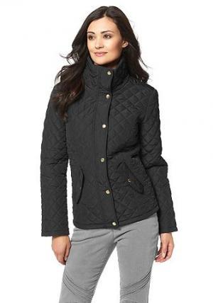 Chillytime, стёганая куртка CHILLYTIME. Цвет: черный