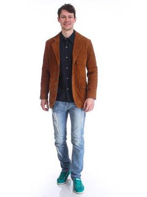 Пиджак мужской VON DUTCH. Цвет: рыжий