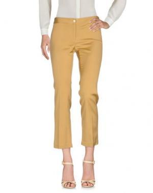 Повседневные брюки MÊME by GIAB'S. Цвет: верблюжий