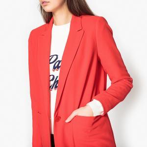 Пальто из лёгкой ткани LANDER BA&SH. Цвет: красный