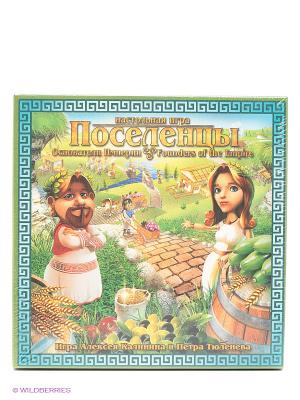 Игра Поселенцы. Основатели Империи Правильные игры. Цвет: зеленый, красный, белый
