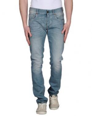 Джинсовые брюки SEAL KAY INDEPENDENT. Цвет: синий