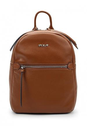 Рюкзак Pola. Цвет: коричневый