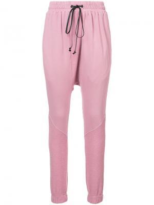 Спортивные брюки Roaming Daniel Patrick. Цвет: розовый и фиолетовый