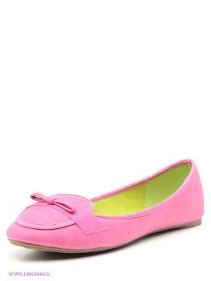 Балетки Wilmar. Цвет: розовый